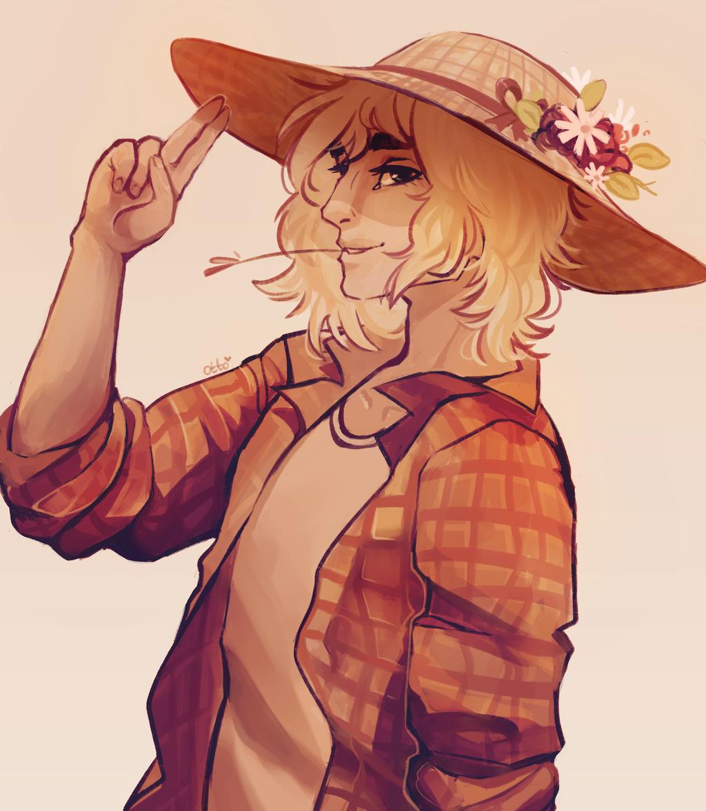 Handsome Farmer by R0BUTT