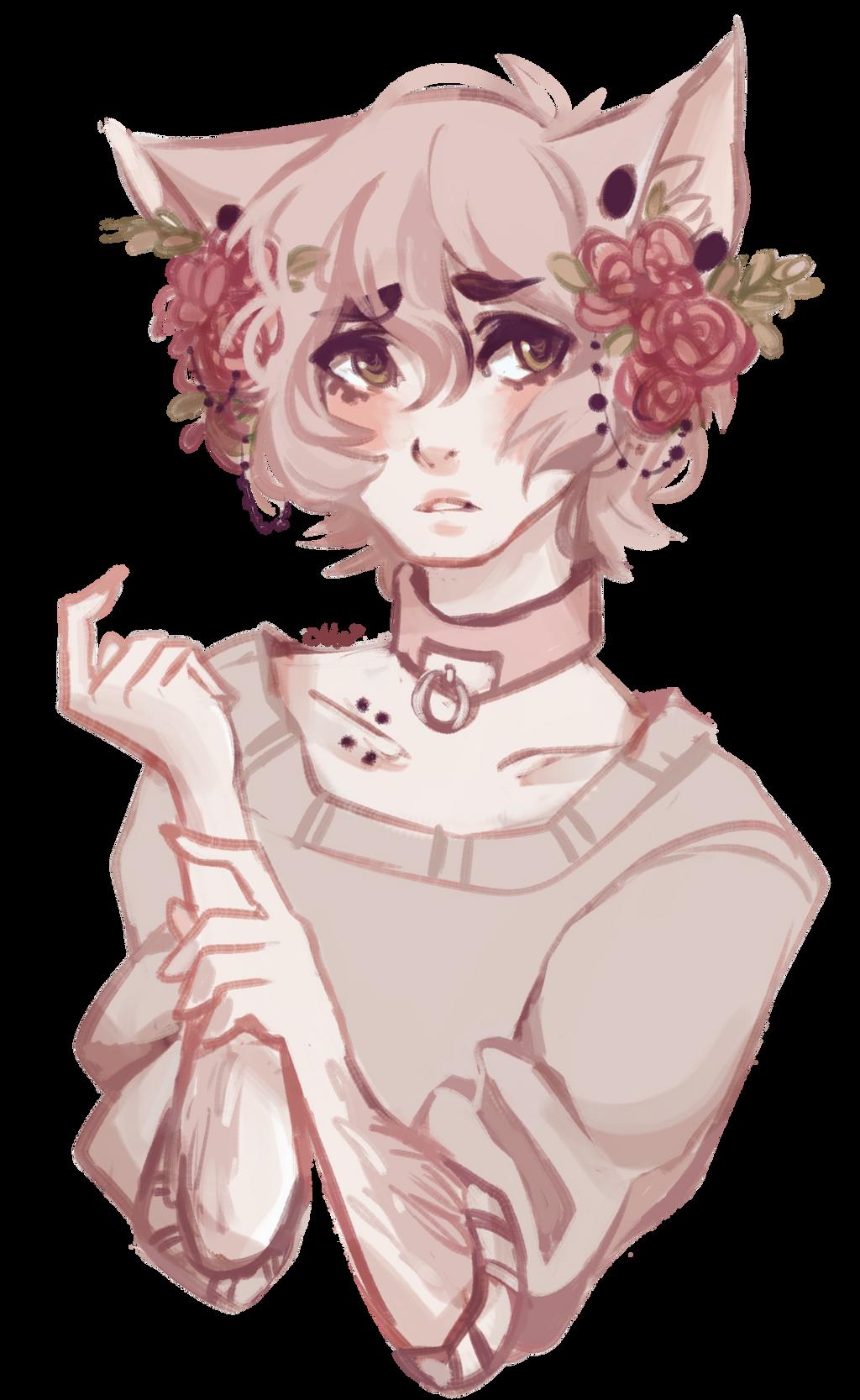 Flowerboy !! by R0BUTT
