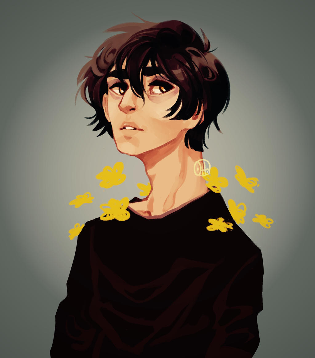 Yellow flowers by R0BUTT