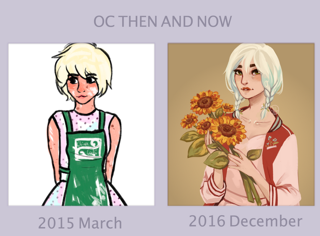 Claire Then And Now by R0BUTT
