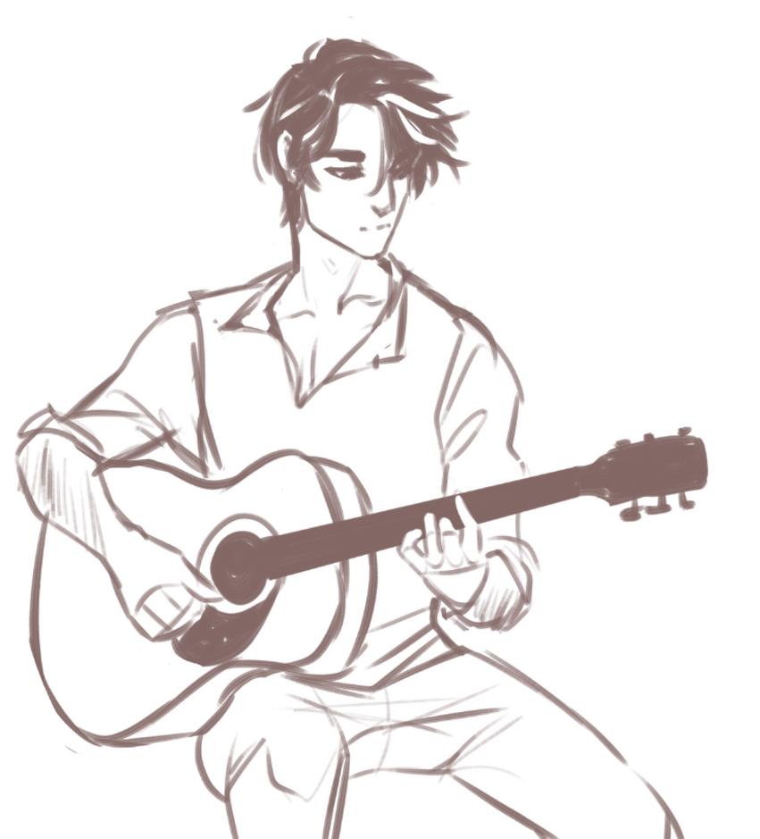 Zan Guitar by R0BUTT