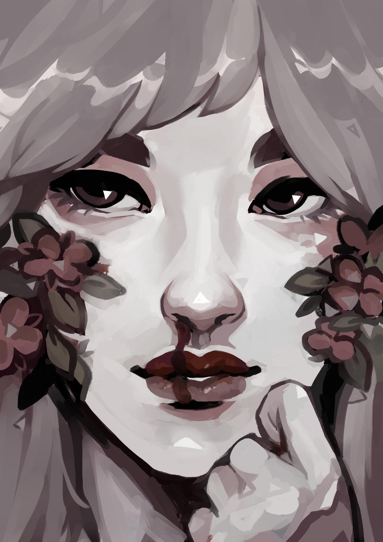 Pale { SPEEDPAINT } by R0BUTT