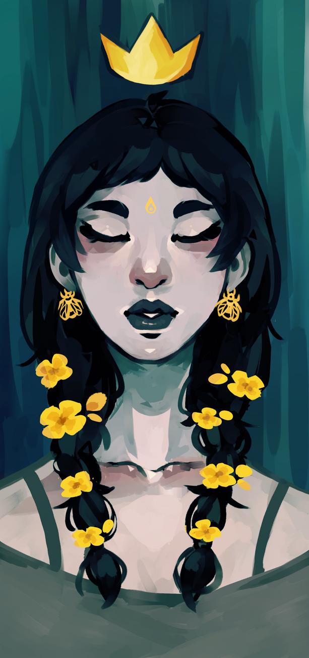 Queen Bee by R0BUTT