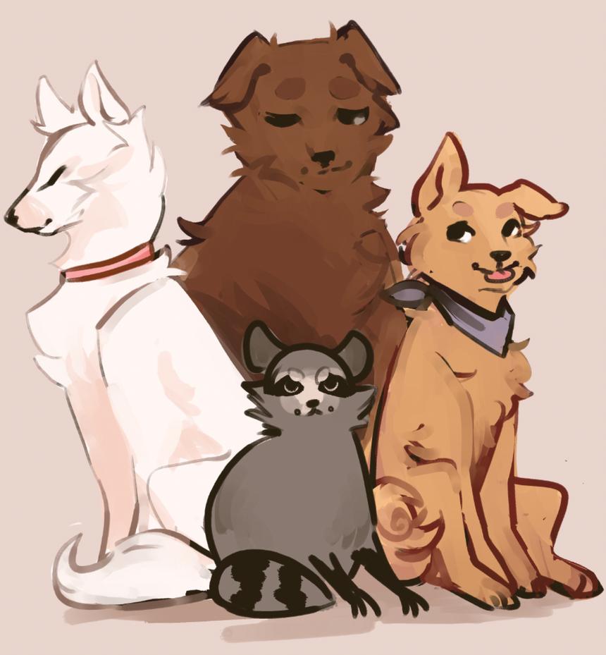 Team Doggo (?) by R0BUTT