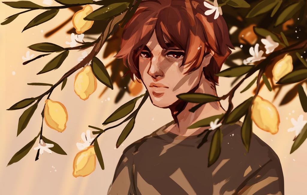 Lemons { SPEEDPAINT } by R0BUTT