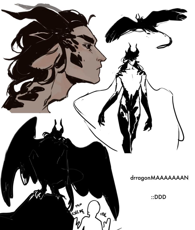 Dragonman by R0BUTT