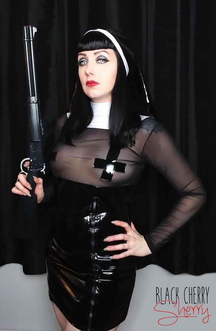 nuns with guns.blackcherrysherry on deviantart