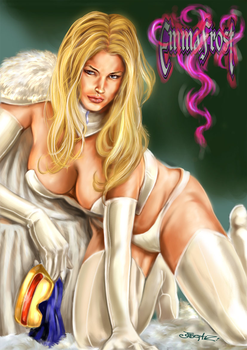 comics girls emma frost - photo #33