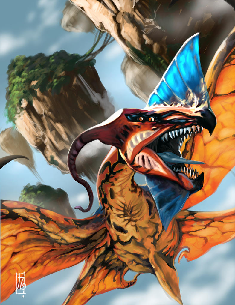 the great leonopteryx by earache-J