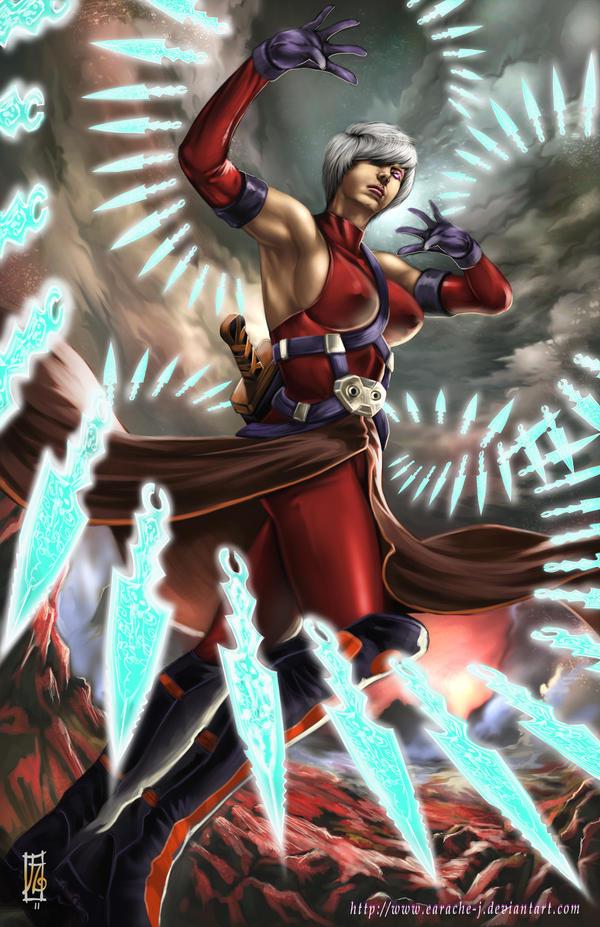titan's blade - kassidy by earache-J