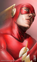 Flash Headshot by earache-J