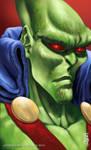 Martian Manhunter Headshot
