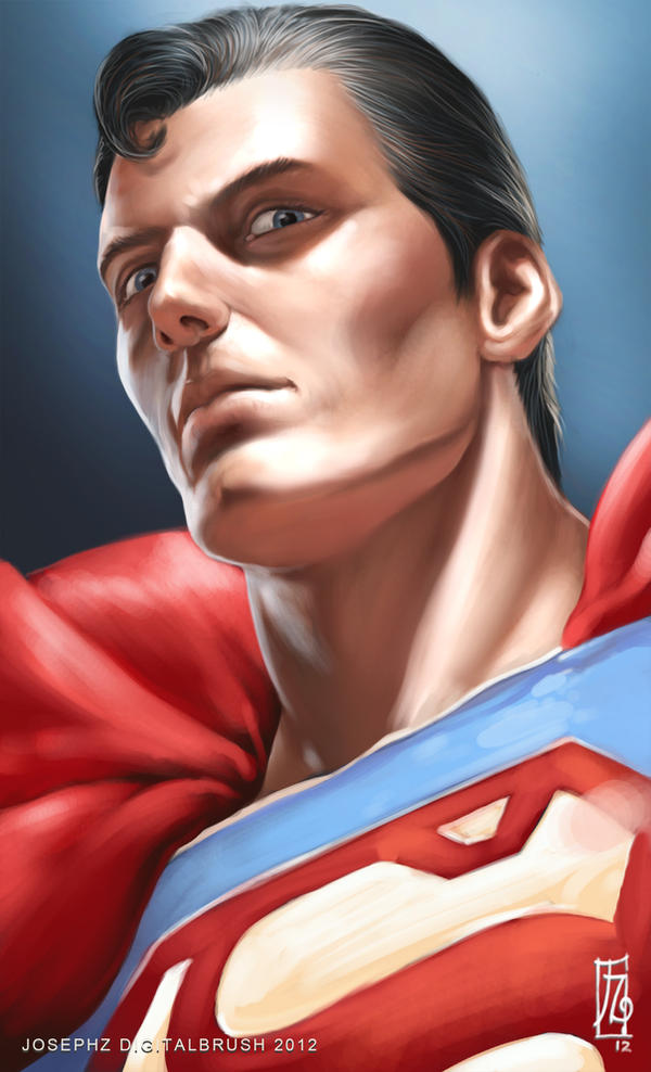 Superman Headshot by earache-J