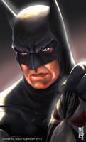 Batman Headshot by earache-J