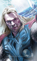 Chris Hemswoth as Thor