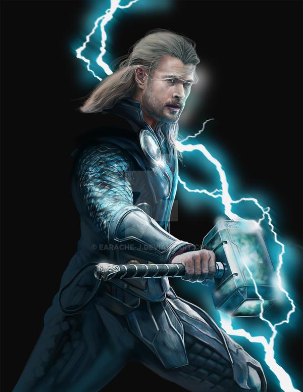WIP Thor by earache-J