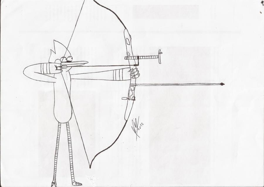 Mordecai Arqueria Lapicera/Mordecai Archery Pen by abrilmazziotti