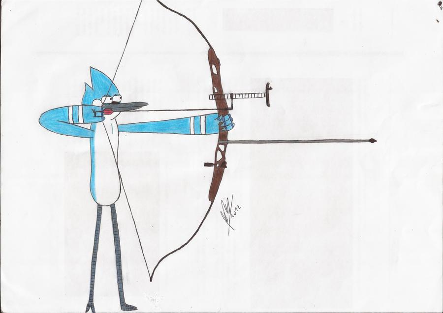Mordecai Arqueria Color Mordecai Archery Color by abrilmazziotti
