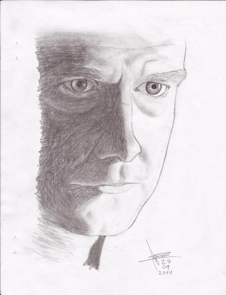 Martin Freeman by abrilmazziotti