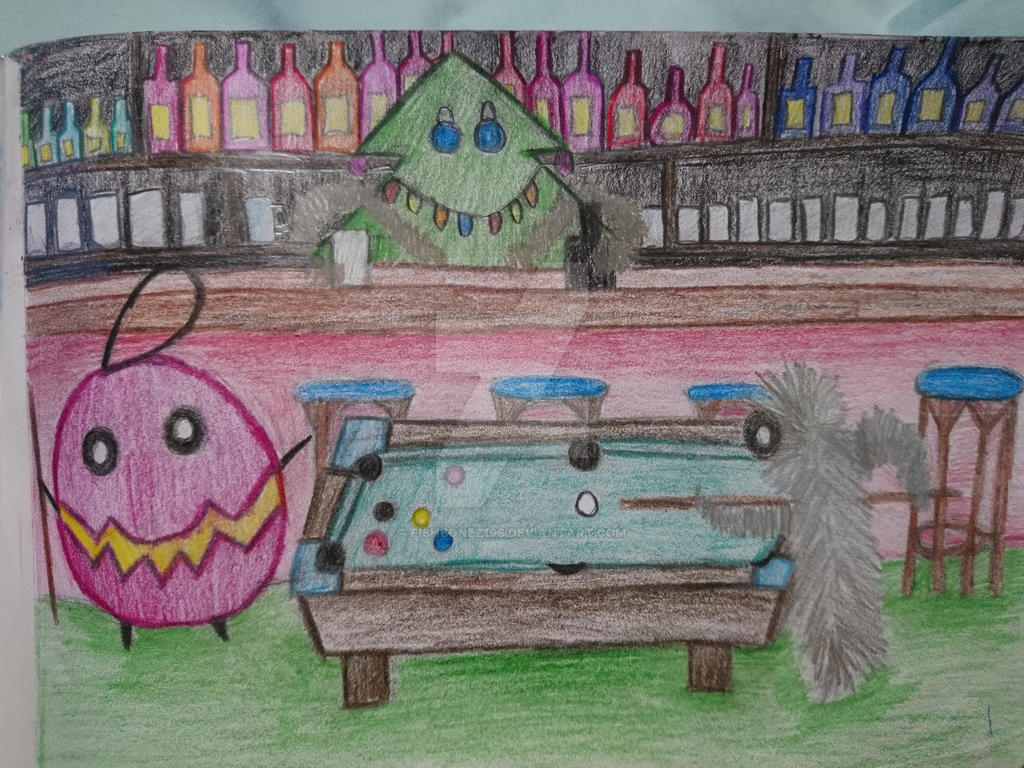 bauble bauble and Tinsle pub night  by fishbonez196
