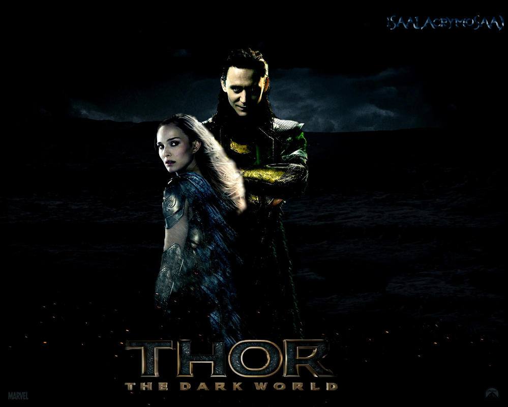 Loki and Jane Thor the dark world Poster by isaalacrymosaa ...
