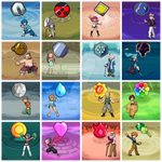 Pokemon Gym Leaders and Badges HGSS GSC