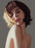 GIRL PORTRAIT- by Alexianeee