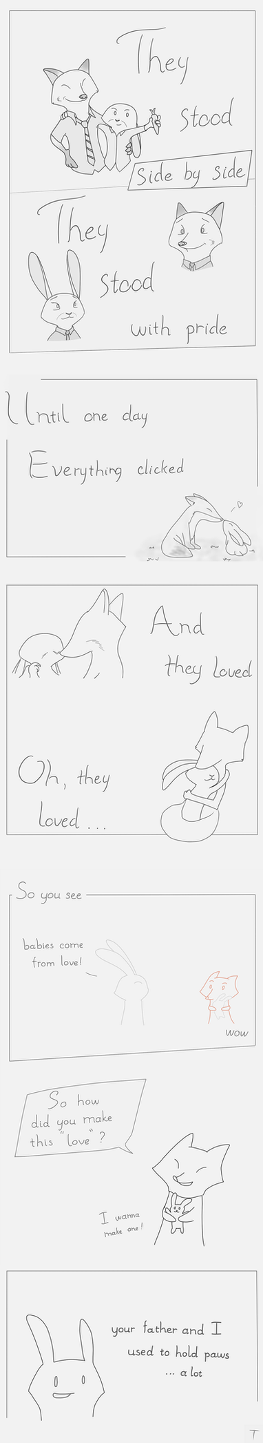The bunny and the fox (part 2) by toannghe1997