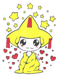 33: Shiny Jirachi by MasterPinpey