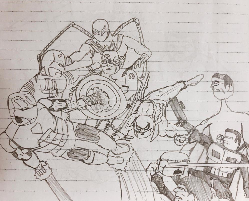 Marvel: Civil War by kakeru30
