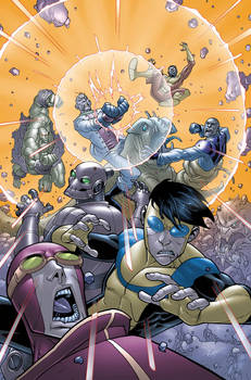 Invincible 48 cover