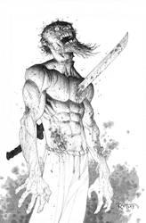 Zombie dude by RyanOttley