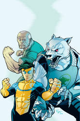 Invincible universe primer by RyanOttley