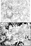 Savage Dragon panel