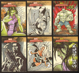 Marvel cards by RyanOttley