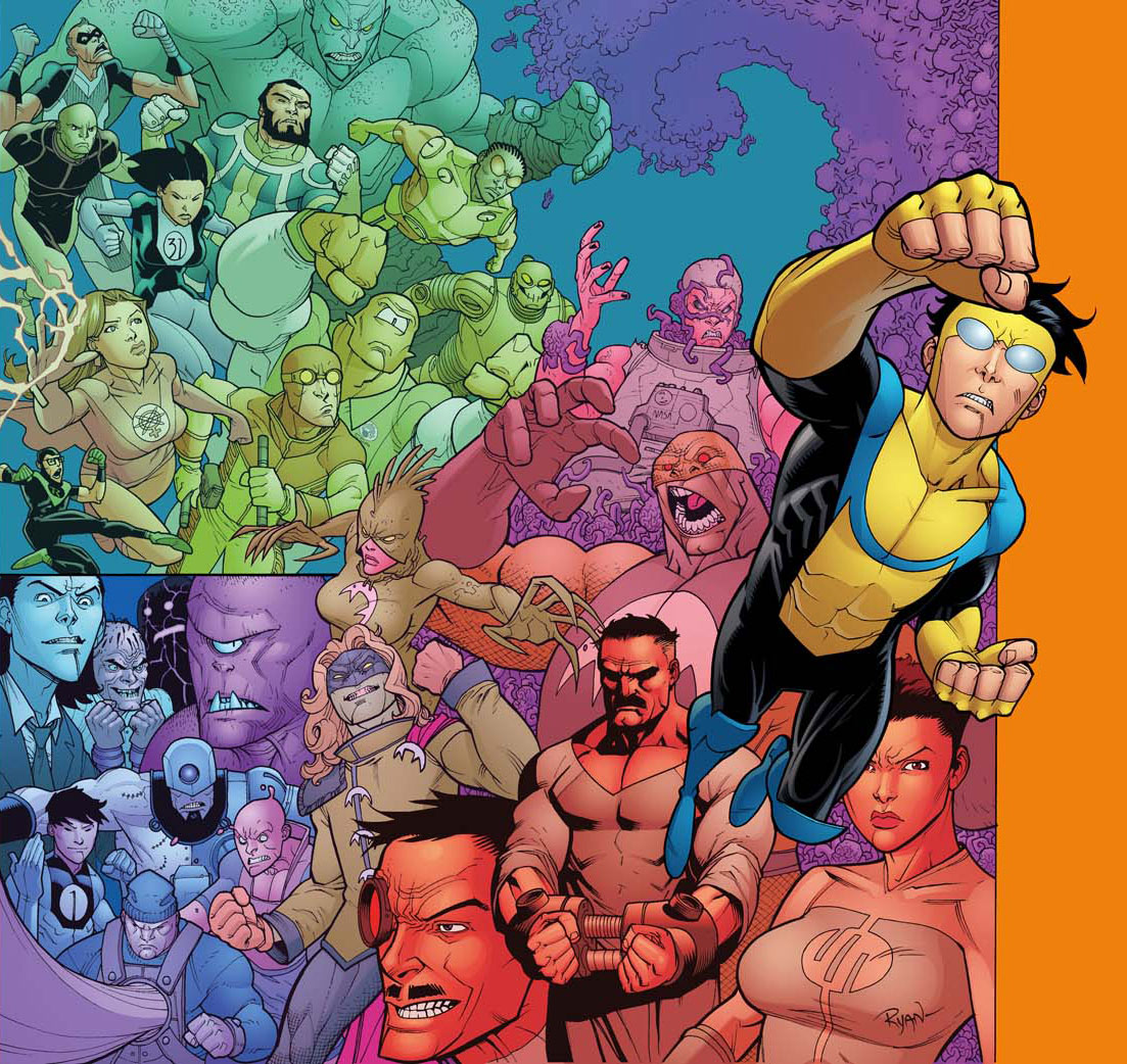 Invincible Hard Cover 4 by RyanOttley