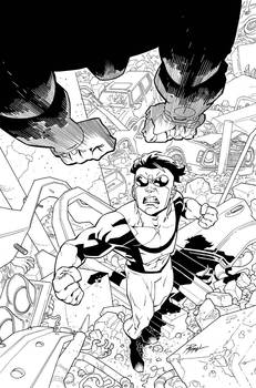 Invincible 61 cover