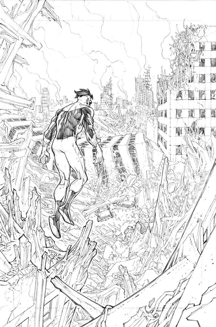 Destroyed city by RyanOttley