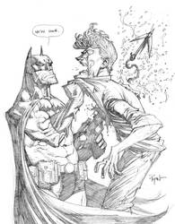 Batman VS Joker final FIGHT by RyanOttley
