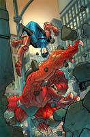 Invincible 68 cover by RyanOttley