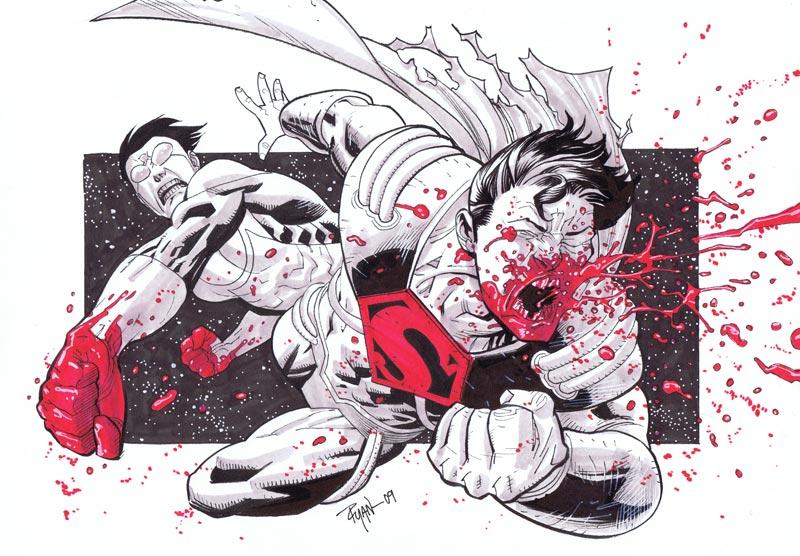 Part 14 / 9 Invincible_VS_Superboy_Prime_by_WyA