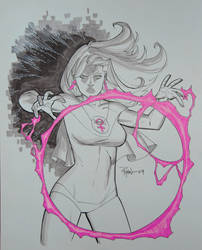 Atom Eve commission by RyanOttley
