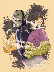 Super Skrull by RyanOttley
