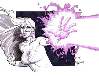 Eve blastin by RyanOttley