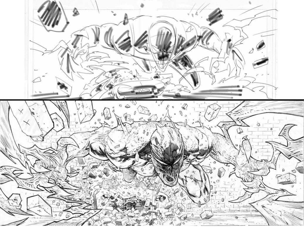 Haunt 4 page 10-11 spread by RyanOttley