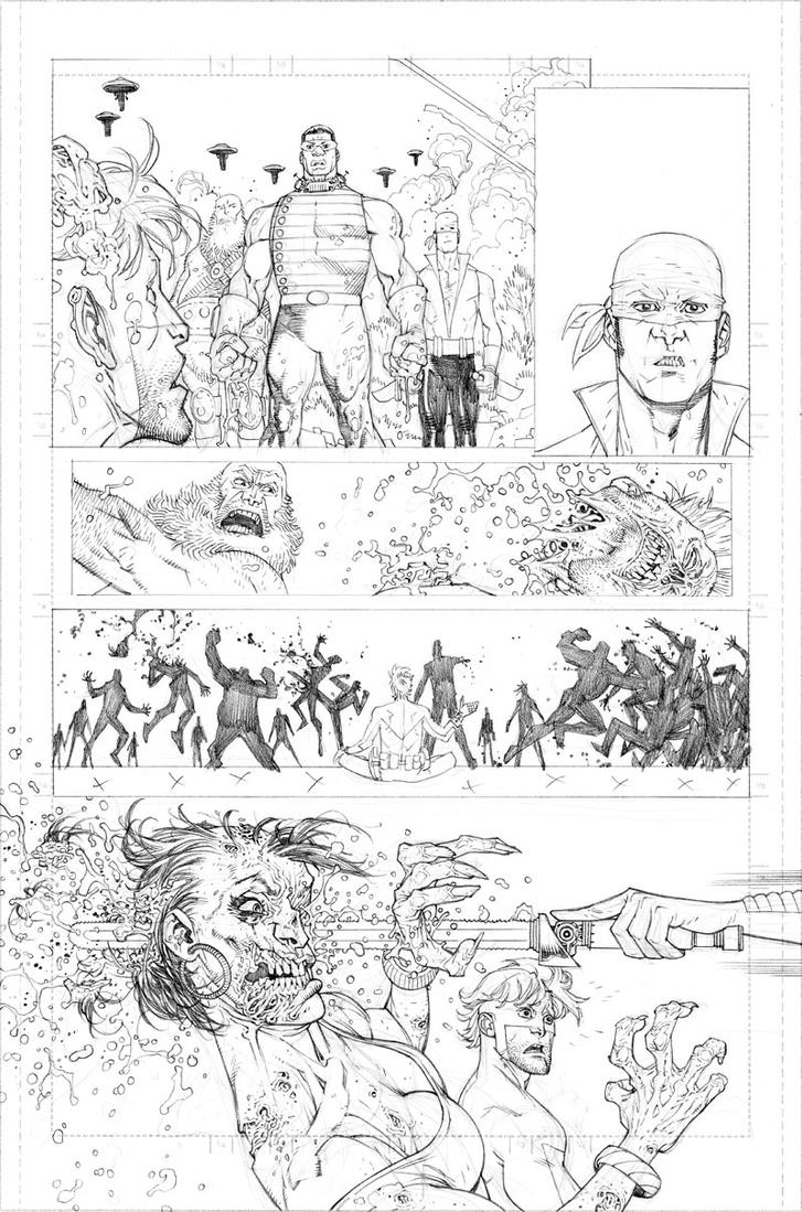 Walking Dead 75 page 5 by RyanOttley