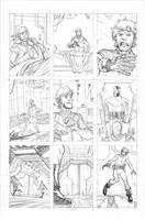 Walking Dead page 3 by RyanOttley
