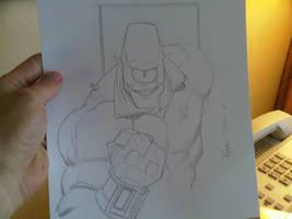 COMICON sketch Allen again by RyanOttley
