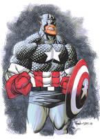 Captain America the Alien by RyanOttley