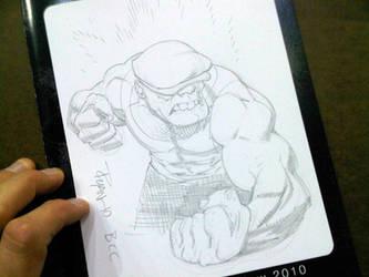 BCC 2010 GOON sketch by RyanOttley
